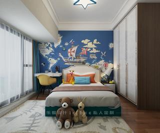 135㎡三居儿童房装修效果图