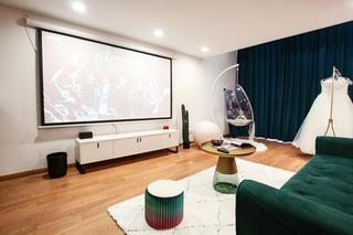 58㎡loft公寓客厅装修效果图