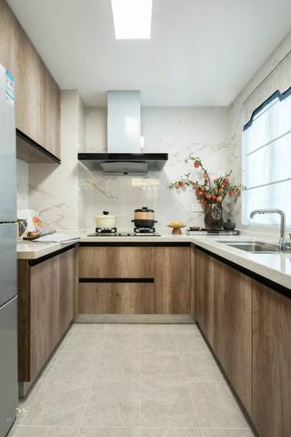 现代中式三居厨房装修效果图