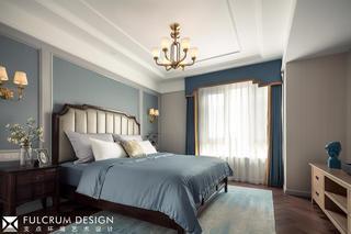 156平美式风格卧室装修效果图