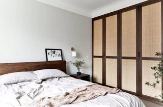 150㎡自然简约风卧室装修效果图
