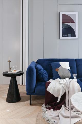 77㎡北欧风沙发背景墙装修效果图