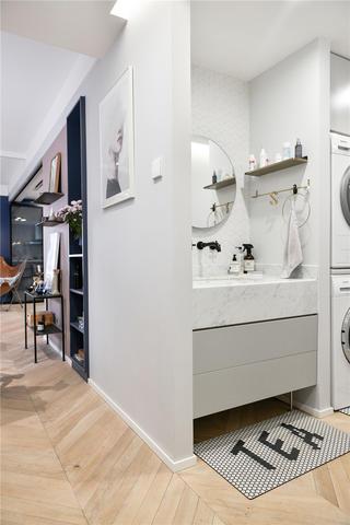 77㎡北欧风装修洗手台设计