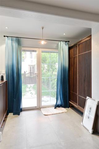 现代中式风别墅门厅装修效果图