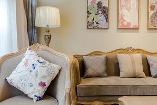 大户型混搭风格装修沙发抱枕设计