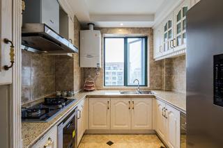 大户型混搭风格厨房装修效果图
