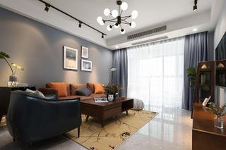 80平米二居室客厅装修效果图