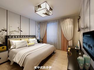 110㎡中式風格臥室裝修效果圖