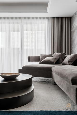 大户型现代简约风格装修沙发设计图