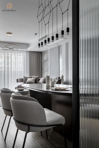 大户型现代简约风格装修餐椅设计图