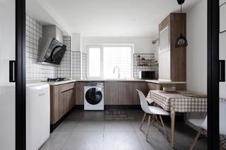 90㎡简约风两居厨房装修效果图