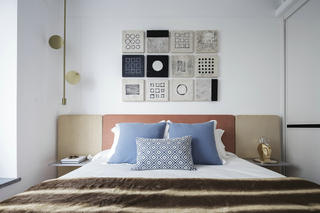 现代简约风格卧室装修设计图