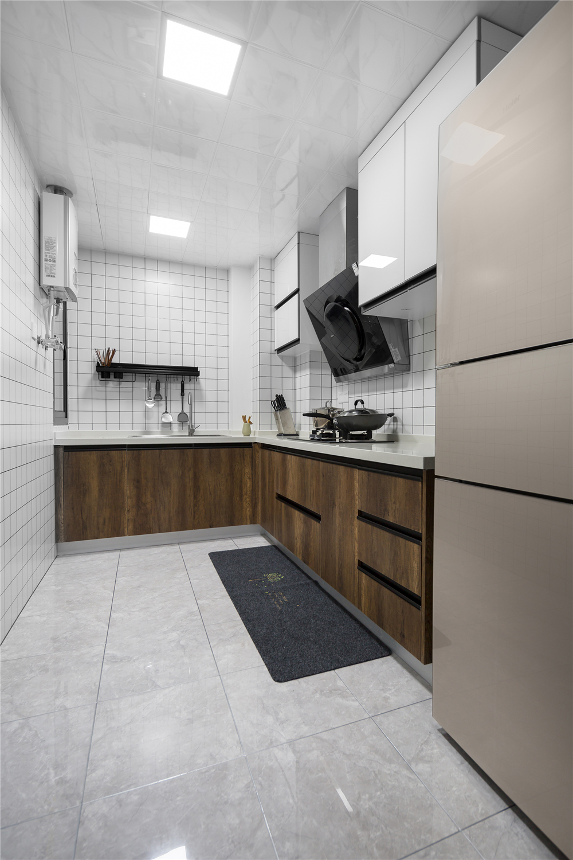 80平米二居室厨房装修效果图