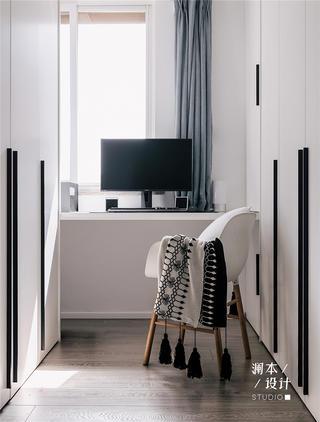 北欧风格二居室衣帽间装修效果图