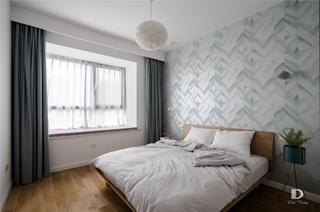 120㎡北欧风格卧室装修效果图