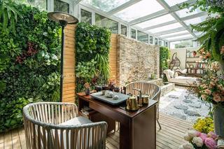 180平美式風格庭院裝修效果圖