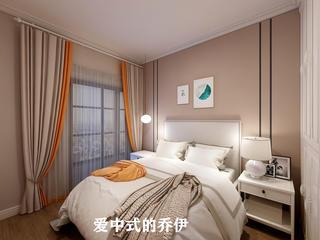 轻奢现代三居卧室装修效果图