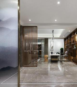 现代新中式别墅休闲室装修效果图