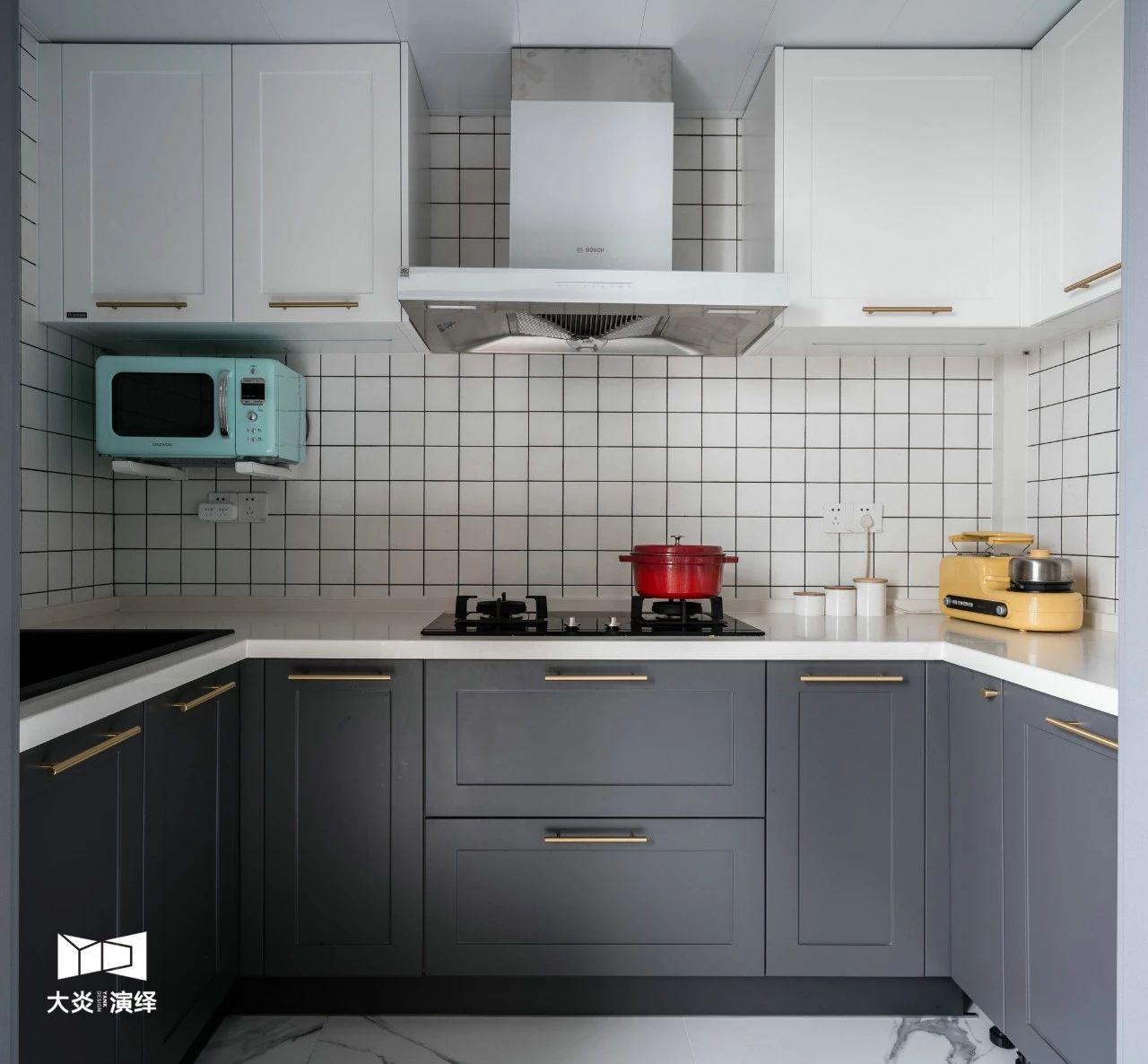 148㎡简约现代风厨房装修效果图