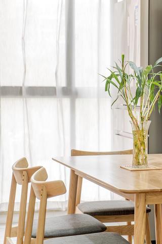 120㎡日式风格装修餐桌椅设计图
