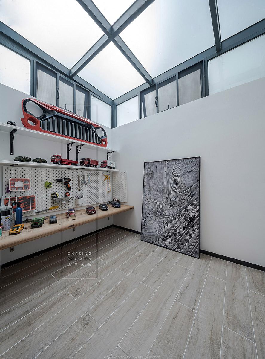 现代简约风二居阳光房装修效果图