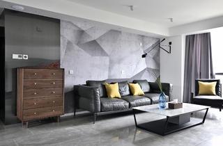 152平现代简约风沙发背景墙装修效果图