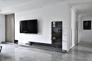 152平现代简约风电视背景墙装修效果图