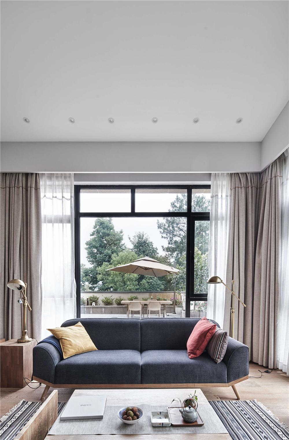 日式风格别墅装修沙发设计图