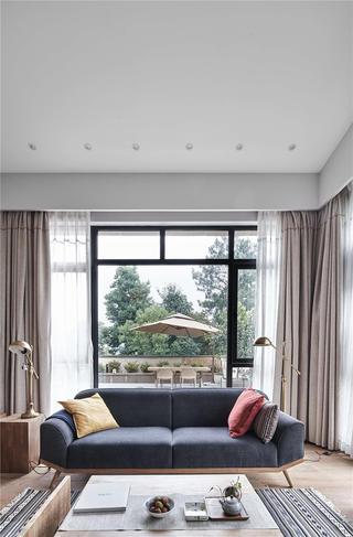 日式風格別墅裝修沙發設計圖
