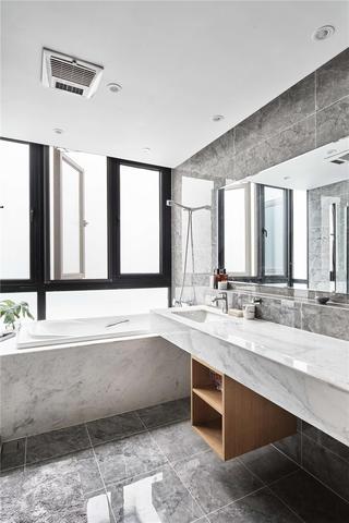 日式风格别墅卫生间装修效果图