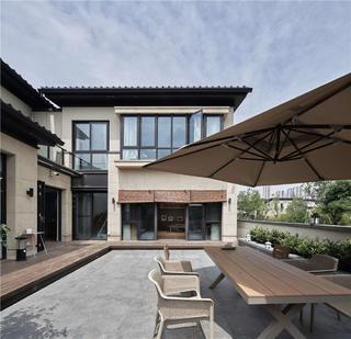 日式风格别墅庭院装修效果图