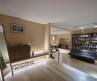 日式风格别墅地下室装修效果图