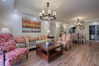 四居室美式风格客餐厅每日首存送20