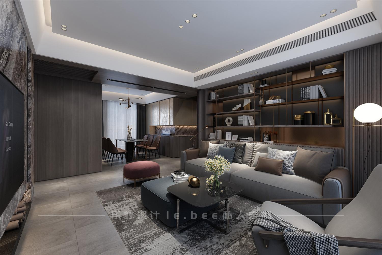 150平米四居室客厅装修效果图