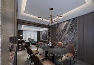 150平米四居室餐厅装修效果图