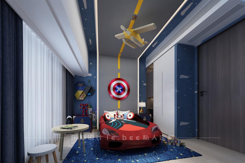 150平米四居儿童房装修效果图