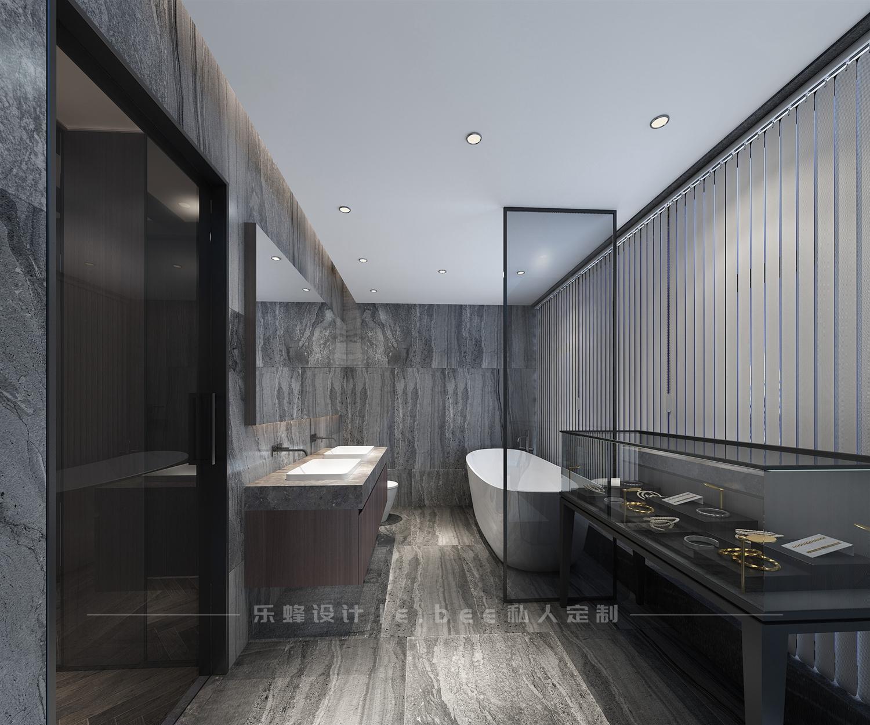 150平米四居室卫生间装修效果图
