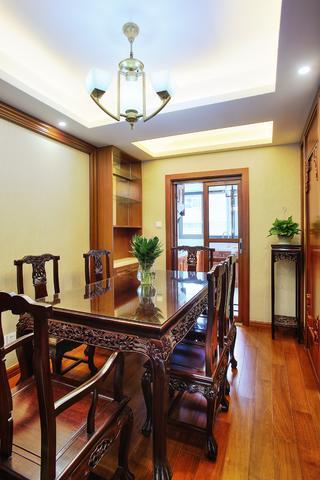 中式风格二居室餐厅装修效果图