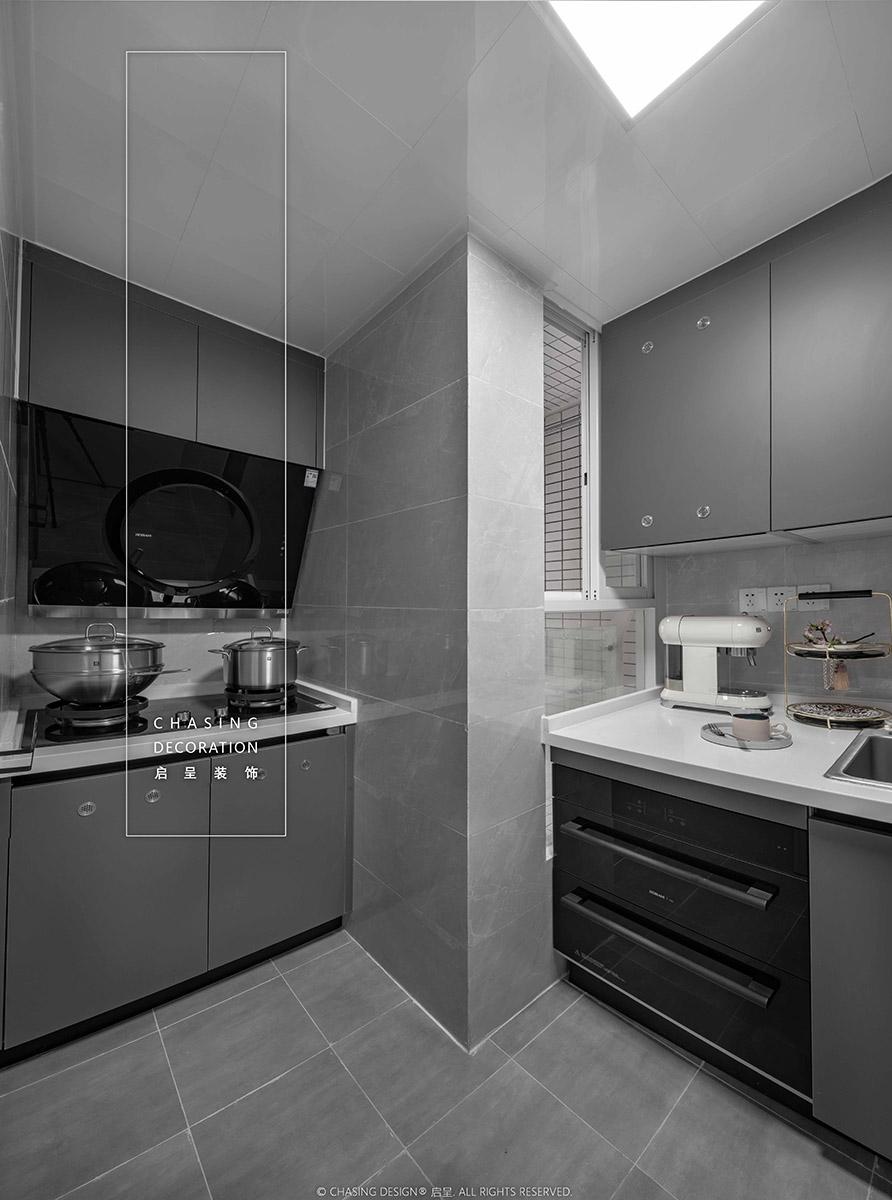 48平小户型公寓厨房装修效果图