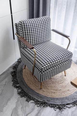 160㎡北欧现代风装修沙发椅设计