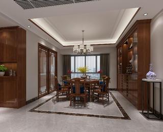 中式风格餐厅装修设计效果图
