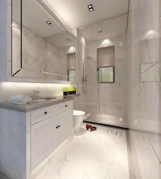 现代简约卫生间装修设计效果图
