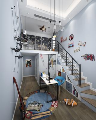 北欧风格儿童房装修设计效果图