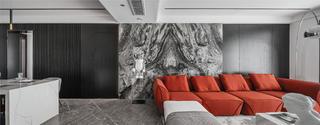 170平现代风格沙发背景墙装修效果图