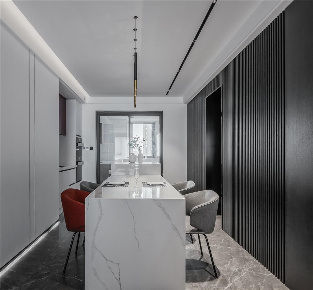 170平现代风格餐厅装修效果图