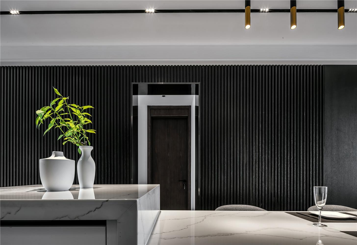 170平现代风格餐厅背景墙装修效果图