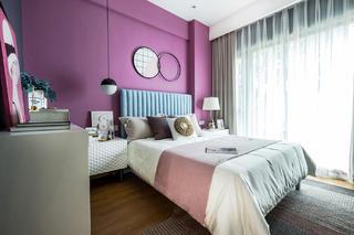 55平米两居卧室装修效果图