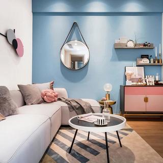 55平米两居室装修注册送300元现金老虎机图
