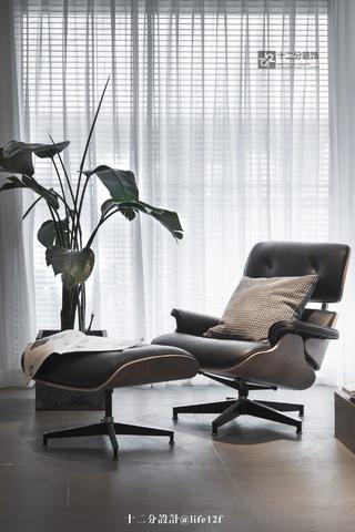 166㎡现代简约风格装修躺椅设计图