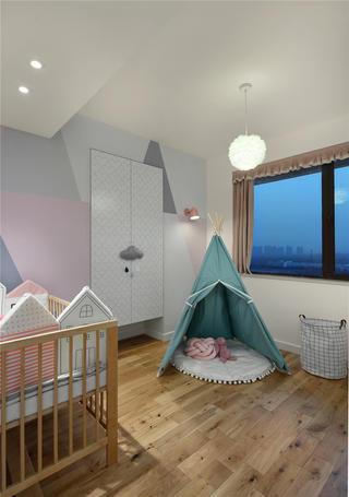 129平米三居室儿童房装修效果图